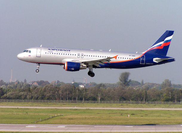 Author: Arcturus Aeroflot Airbus A320-200 landing in Düsseldorf.