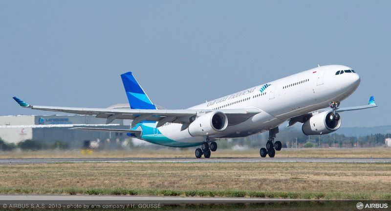 Garuda Indonesia starts taking delivery of new A330-300 fleet ...