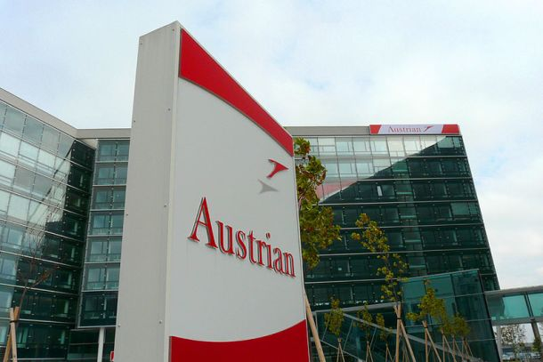 Headquarters of Austrian Airlines on the grounds of Vienna International Airport. Author: General Photo Shooter
