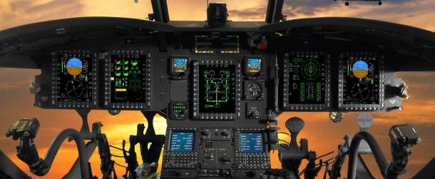 The Rockwell Collins Common Avionics Architecture System (CAAS) cockpit is featured on the first CH-147 Chinook helicopter that was delivered to Canada's Department of National Defence.