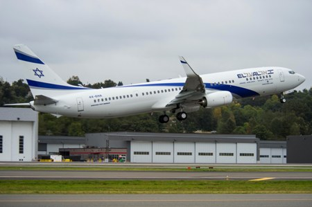 Boeing Delivers EL AL Israel Airlines' First Next-Generation 737-900ERCopyright The Boeing Company