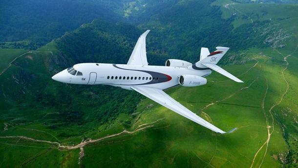 Falcon 5X Photo Source / Author: Dassault Falcon
