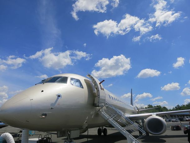 Embraer Lineage 1000 exterior. Author: JetRequest.com