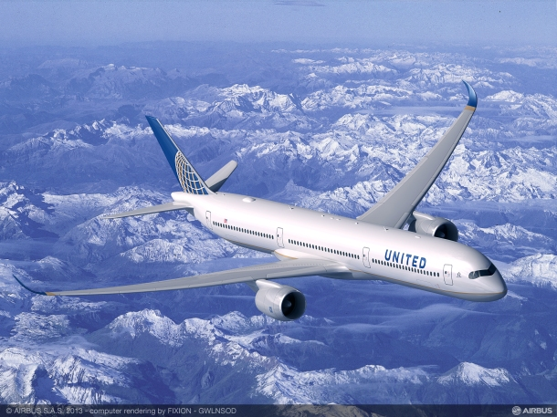 Airbus A350-1000 Source: United Continental