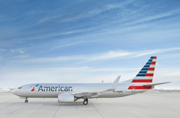 New livery after US Airways and American Airlines merge.