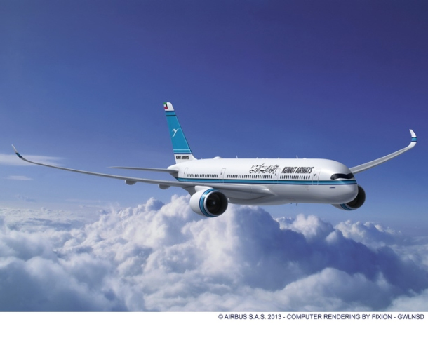 Rolls-Royce welcomes Kuwait Airways selection of A350 aircraft.
