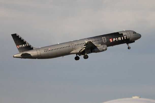 Spirit Airlines N587NK (an A321-231) lifting off from Fort Lauderdale – Hollywood International Airport  Author Jelson25