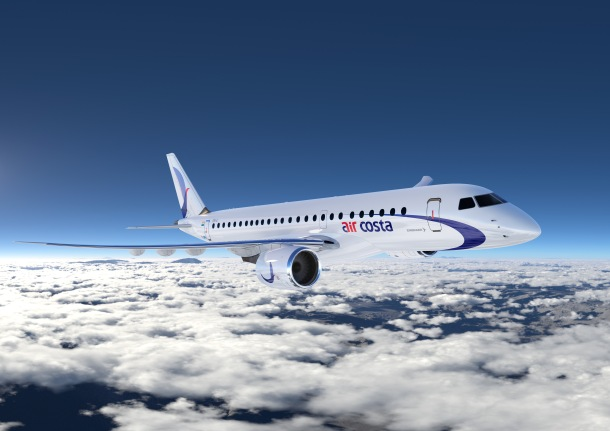 In July, 2013, Embraer launched the E-Jet E2 family of aircraft, the second generation of its successful E-Jet family of commercial aircraft comprising three new airplanes; E175-E2; E190-E2; and E195-E2 accommodating seating from 70 to 130 passengers. The E190-E2 is expected to enter service in the first half of 2018. The E195-E2 is slated to enter service in 2019 and the E175-E2 in 2020. For more highlights on the E2 generation of E-Jets visit www.embraercommercialaviation.com/E2