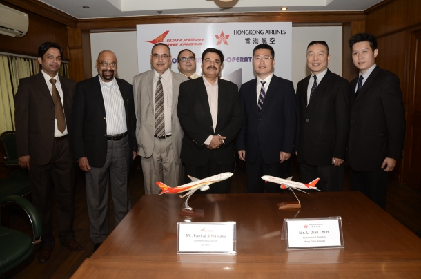 Hong Kong Airlines begins code share with Air India