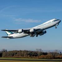 747-8F Cathay #1483-RC561 Takeoff