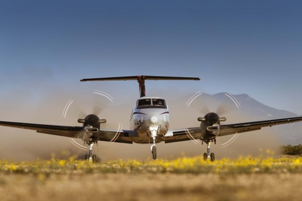 kingair_350er_gravel