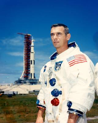 NASA astronaut Eugene Cernan Credits: NASA