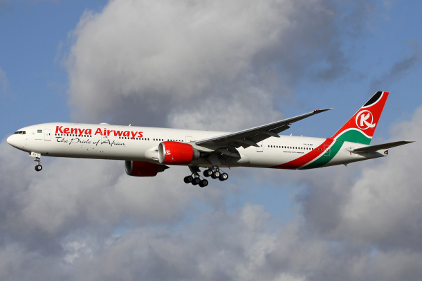 By Andre Wadman - http://www.airliners.net/photo/Kenya-Airways/Boeing-777-36N-ER/2401770/L/, GFDL 1.2, https://commons.wikimedia.org/w/index.php?curid=31981262