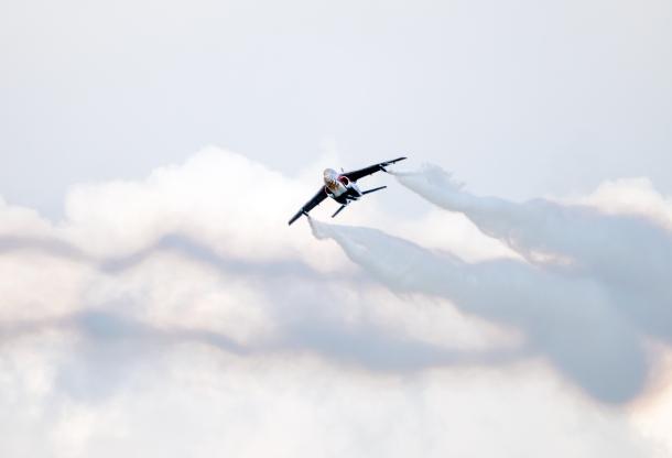 A photo of the Dessaulr Dornier Alpha Jet